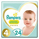 Pampers  - Premium Protection - Couches Taille 4 (9-14 kg) - Pack Small (x24 couches)