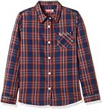 Bare kids Girls' Shirt (BJG-AW16-BLS-1573_Orange_13 - 14 years)