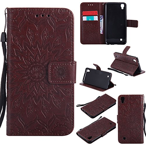 for-lg-x-power-case-browncozy-hut-wallet-case-magnetic-flip-book-style-cover-case-high-quality-class