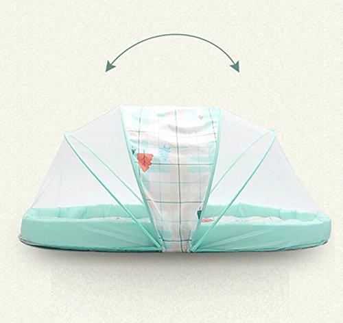 Preisvergleich Produktbild MYENG 2017 Baby Moskitonetz Faltbare mongolische Beutel Moskito-Abdeckung Baby-Moskitonetz Baby Neugeborene 0-3 Jährige Universal-Drehung 360 Grad Bequem