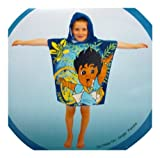 Lights Linen New Go Diego Go Jungle Hooded Poncho Towel 60cm X 120cm