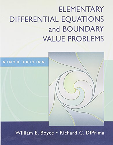 Elementary Differential Equations + Boundrary Value Problems PDF Books
