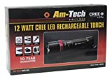 51iYQRGTUyL. SL160  - BEST BUY# Am Tech S8080 12W Cree LED Rechargeable Torch Reviews