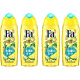 Fa Island Vibes Hawai Love Gel Douche Flacon 250 ml - Lot de 4
