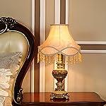 Prodotto: Lampada da tavolo Dimensioni: 57 * 33cm Diametro base: 15cm Materiale: resina, panno, hardware Tipo di interruttore: interruttore di regolazione Materiale corpo leggero: resina Materiale della copertura della lampada: panno ...