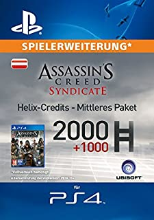 Assassin's Creed Syndicate - Mittleres Helix Credit Paket [Spielerweiterung] [PS4 PSN Code - österreichisches Konto] (B017A6V6X6) | Amazon price tracker / tracking, Amazon price history charts, Amazon price watches, Amazon price drop alerts