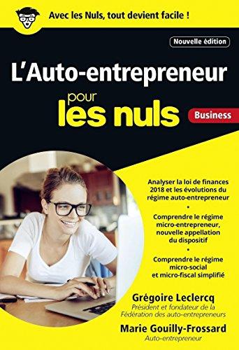 L'Auto-entrepreneur pour les Nuls, poche, 4e édition par Grégoire LECLERCQ