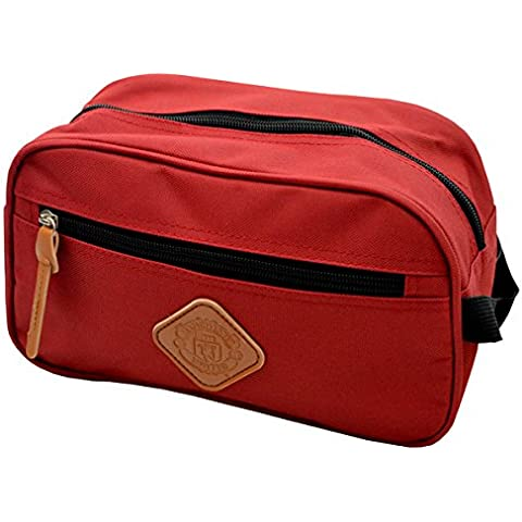 Manchester United F.C. , Beauty Case  rosso Red