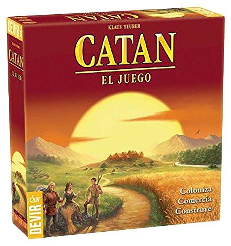 Devir - Catan, juego mesa - Idioma castellano