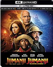 Jumanji: Welcome to the Jungle & Jumanji: The Next Level (Steelbook) (4K