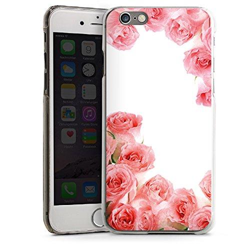 Apple iPhone 4 Housse Étui Silicone Coque Protection Roses Roses Roses CasDur transparent