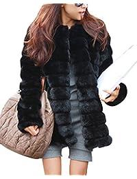 Maniche lunghe Giacche Cappotti Outwear Donne Parka Faux Fur Pelliccia Ecologica Cappotto Giacca in pelle Cappotto