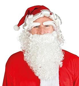 Boland 13415 - Set de disfrazar como Santa Claus, incl. sombrero, peluca, barba y cejas