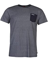 Lee Cooper Hommes Poche T-Shirt Tee Top Haut Casual Col Rond Manche Courte