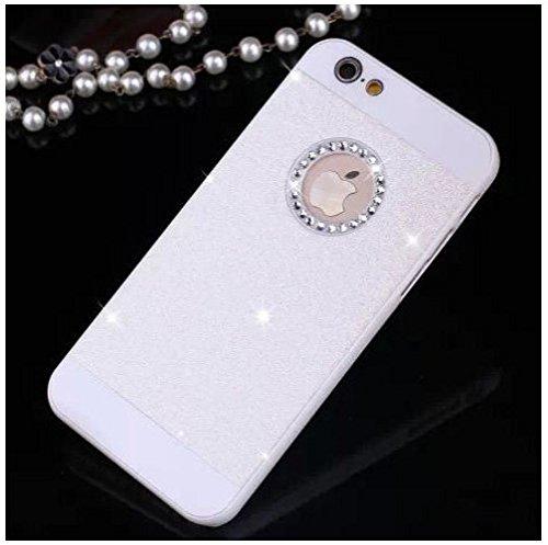 Coque telephone iphone 4 et 4S diamant , strass Noir Blanc
