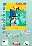Fokus Mathematik - Gymnasium Bayern: 8. Jahrgangsstufe - Intensivierung: Schülerheft mit Lösungen und CD-ROM