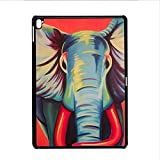 Walt Discover Shop for iPad Pro 9.7 Rigid Plastic Durability Boy Shells Design Colorful Elephant Drawing 1
