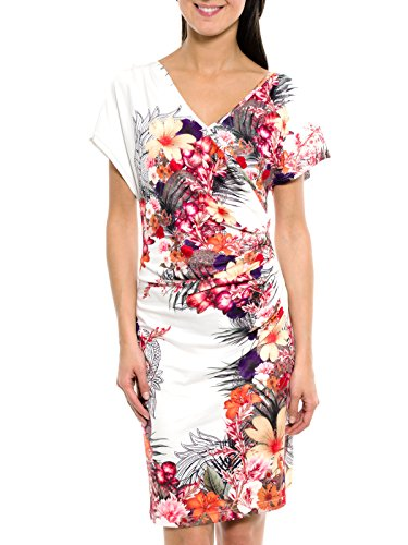 SMASH Audeley, Robe Femme Blanc