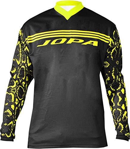 Jopa Infinity MX/BMX Jugend Jersey Schwarz/Gelb 164 - Infinity Jersey