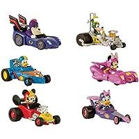 IMC–Mouse Auto Pack 1figura de juguete Mickey y sus amigos Top punto de partida, 182509, escala 1/64–modelos aleatorios
