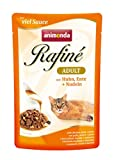 Animonda Rafine Adult Katzenfutter mit Huhn, Ente und Nudeln, 1er Pack (1 x 1200 g)