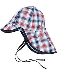 Sterntaler Baby-Jungen Mütze Schirmmütze M Nackenschutz