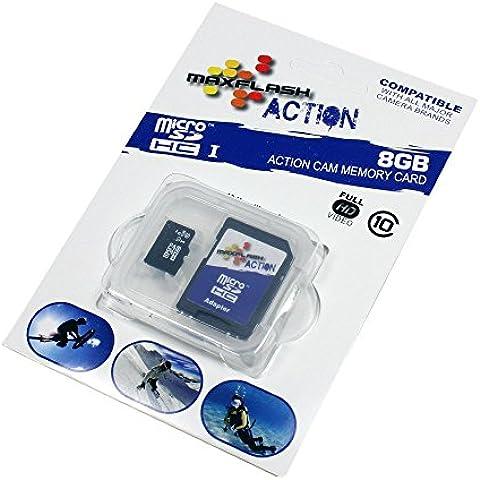 Scheda Di Memoria 8GB Per Asus Zenfone Go, Class 10,