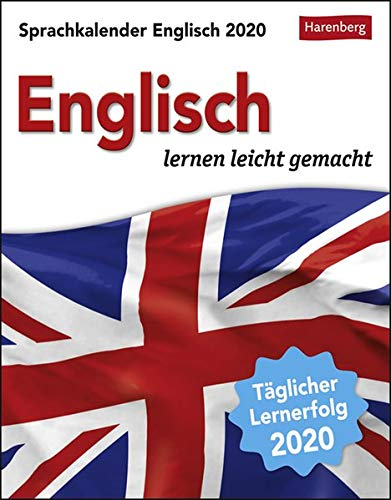 Sprachkalender Englisch 2020 12,5x16cm