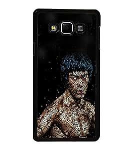 Printvisa Ultra Buddha 2D Hard Polycarbonate Designer Back Case Cover for Samsung Galaxy A8 (...