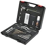 Exact 70543 Premium Gewindeschneidsortiment im Kunststoffkoffer GS18 Spezial, Hochleistungsschnell-Stahl-E, Form B, M3-M12
