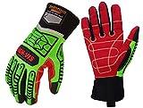 Seibertron HIGH-VIS HDC5 niveau 5 résistant aux coupures Matelot gants de travail résistant aux chocs des gants de sécurité pétrole et du gaz des gants de travail CE EN388 4543 M