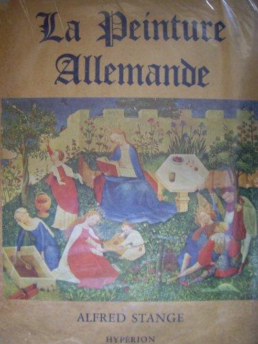 La Peinture allemande : Du XIVe au XVIe sicle, par Alfred Stange. Traduit par Madeleine Leclerc
