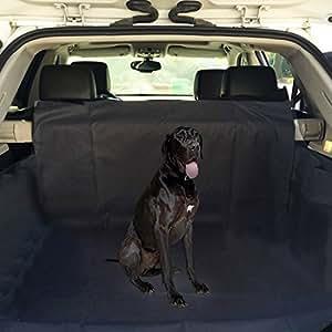 ploopy hundematte auto kofferraum kofferraumschutzdecke mit sto stangenschutz wasserfestes. Black Bedroom Furniture Sets. Home Design Ideas