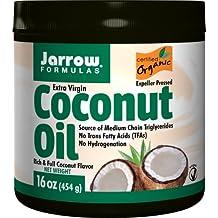 Jarrow Formulas, 100% Virgen Extra Ecológico Aceite de Coco, 16oz