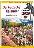 Lahrer Hinkender Bote. Der badische Kalender für 2020. Ausführliches Kalendarium, kurzweilige Geschichten,  Kurzkrimi und vielfältige Informationen aus Baden. Jahresthema: 900 Jahre Freiburg. -
