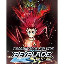 Beyblade Coloring Book For Kids: Coloring Book for Kids Ages 4-8, 9-12, kids coloring books (+70 pages HQ Illustrations)