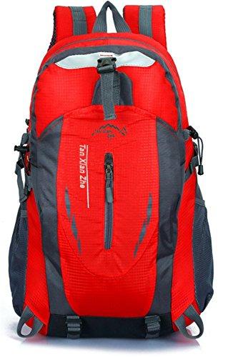 Sac à Dos de Randonnée en Nylon avec Ultraléger Sac de loisirs pour Étudiants Alpinisme Escalade Trekking Sport Voyage Camping