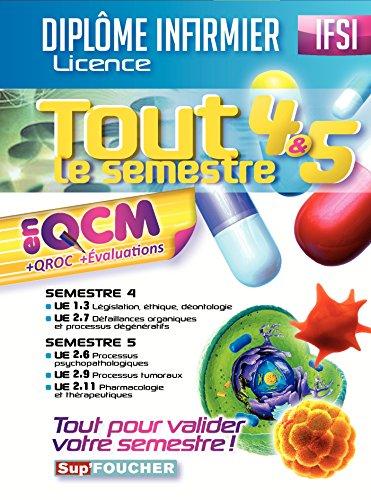 IFSI - Tout le semestre 4 & 5 en QCM et QROC - Diplôme infirmier