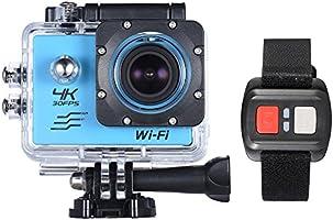 """Andoer 2.0 """"LCD Screen WIFI Sport Azione Fotocamera 4X Zoom 170 ° Grandangolare 4K a 30 fps 1080p 60fps 16MP Impermeabile 30M Auto DVR Camcorder con Telecomando"""