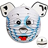 alles-meine.de GmbH 3D Effekt _ Laterne / Lampion - Hund - Eisbär - Bär - aus Papier - für Kinder - Papierlaterne - Lampe - Laternen Lampions - Kerzen Kerze - Figur - für Laterne..