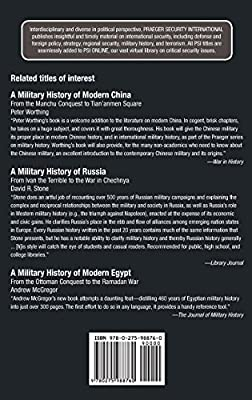 A Military History of the Ottoman Empire: From Osman to Atatürk (Praeger Security International)