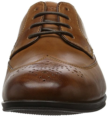 Rockport Sc Wingtip, Derby homme Marron (Brown Le)
