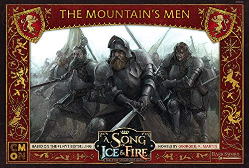 CoolMiniOrNot CMNSIF203 Song of Ice and Fire Miniaturspiel: Lannister Mountain's Men