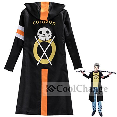 CoolChange One Piece Corazon Mantel von Trafalgar Law (Größe: XXL)