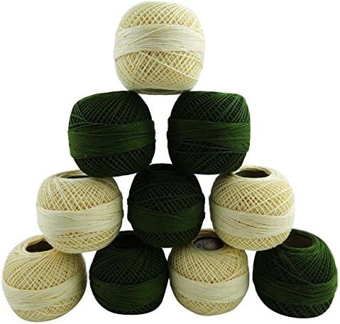 10 Pcs broderie Frivolité Crochet coton mercerisé Fil Fil à tricoter écheveau B01AHP8CIY | Moins Coûteux