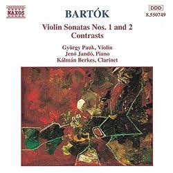 Bartok: Violinsonaten Nr. 1 U. 2 Kontraste