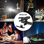 morpilot-LED-Bicicletta-Luce-2PCS-Luci-Bici-Anteriore-700lmPosteriore-10lm-USB-Ricaricabile-Bicicletta-Illuminazione-2600mAh-Batteria-IPX4-Impermeabile