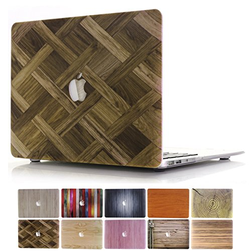 MacBook Pro 13Fall, payphall MacBook Pro Serie Fashion Jeans Design Full Body Schutzhülle Kunststoff HardCase Schutzhülle FÜR Apple MacBook Pro 33cm Modell: A1278 2 Wood-Woven