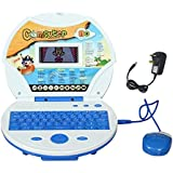 Magicwand® Kids Educational Talking Laptop With 80 Learning Activities, LCD Color Display, (Incl. Mouse & Adaptor)