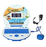 #8: Magicwand Kids Educational Talking Laptop With 80 Learning Activities, LCD Color Display, (Incl. Mouse & Adaptor)
